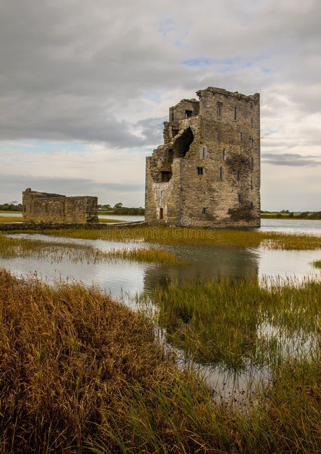 Carrigafoyle Castle royalty free stock image