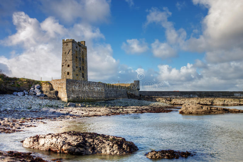 Carrigaholt Castle In Ireland. Stock Photography