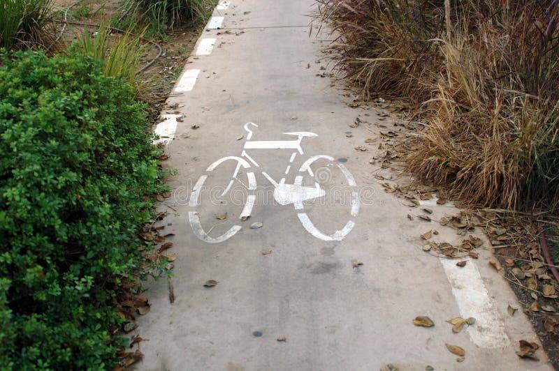 Carril de bicicleta imagenes de archivo