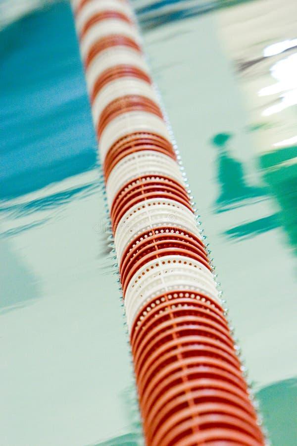 Carril de la piscina de regazo foto de archivo libre de regalías