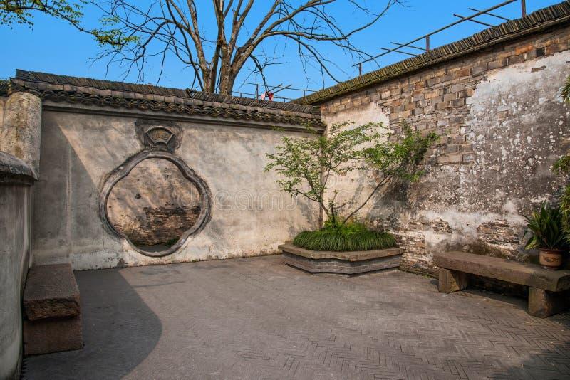 Carril del oeste de la puerta de Jiaxing Wuzhen fotos de archivo libres de regalías