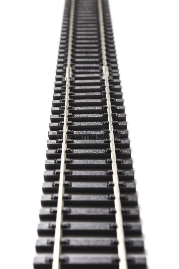 Carriles del ferrocarril foto de archivo libre de regalías