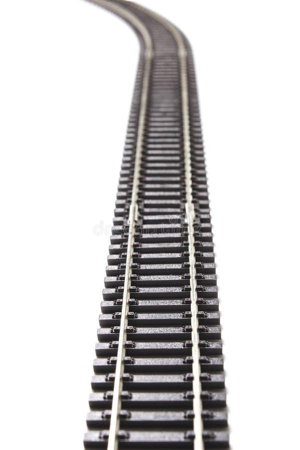 Carriles del ferrocarril imagen de archivo