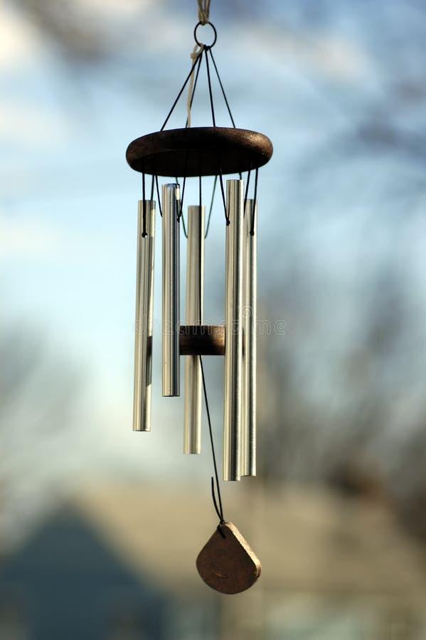Carrilhão de vento imagens de stock
