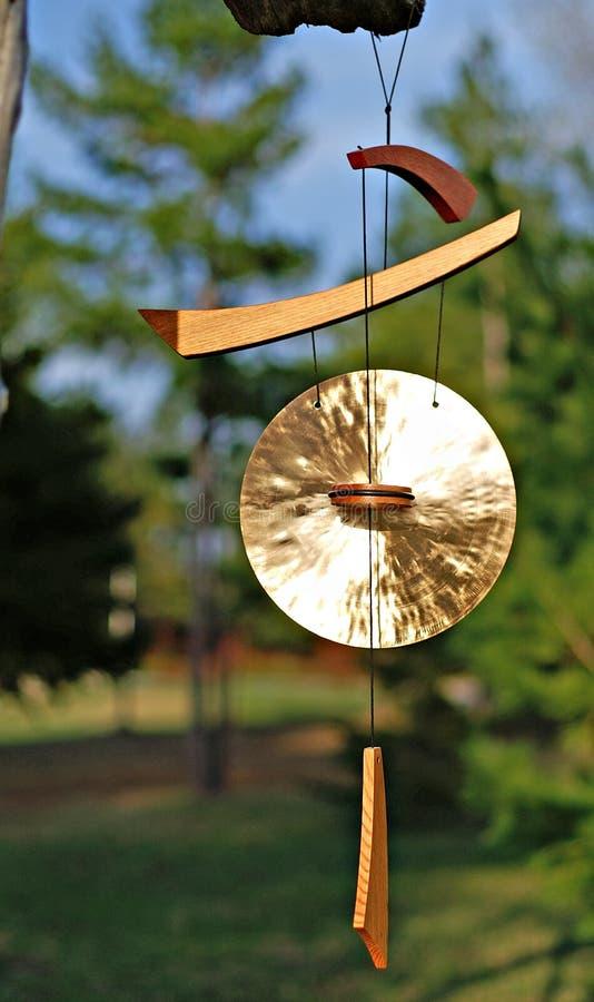 Carrilhões de vento imagens de stock royalty free