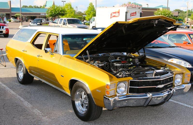 Carrinha 1969 absolutamente bonita de Chevelle imagem de stock