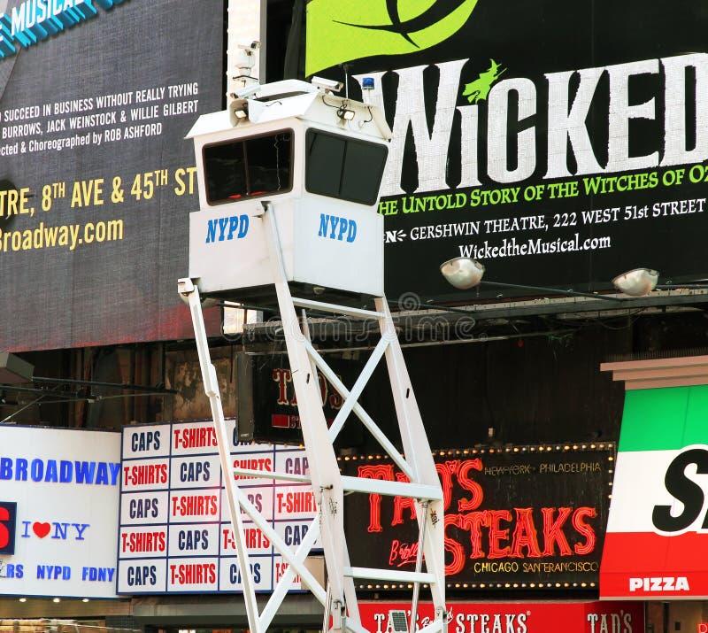 Carrinho da segurança de NYPD imagens de stock royalty free