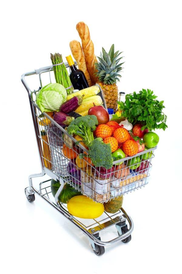 Carrinho de compras. imagens de stock