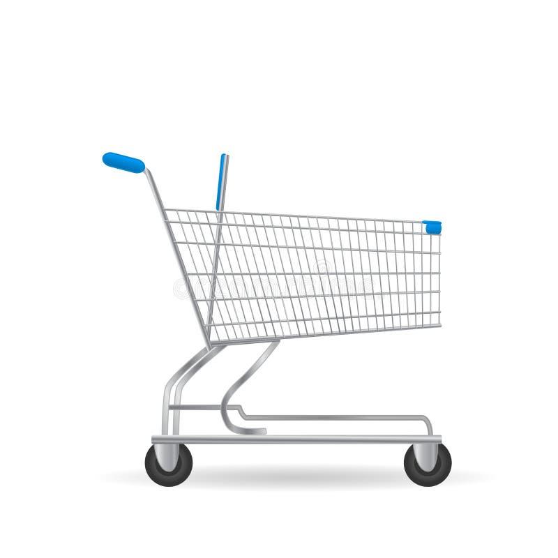 Carrinho de compras ilustração do vetor