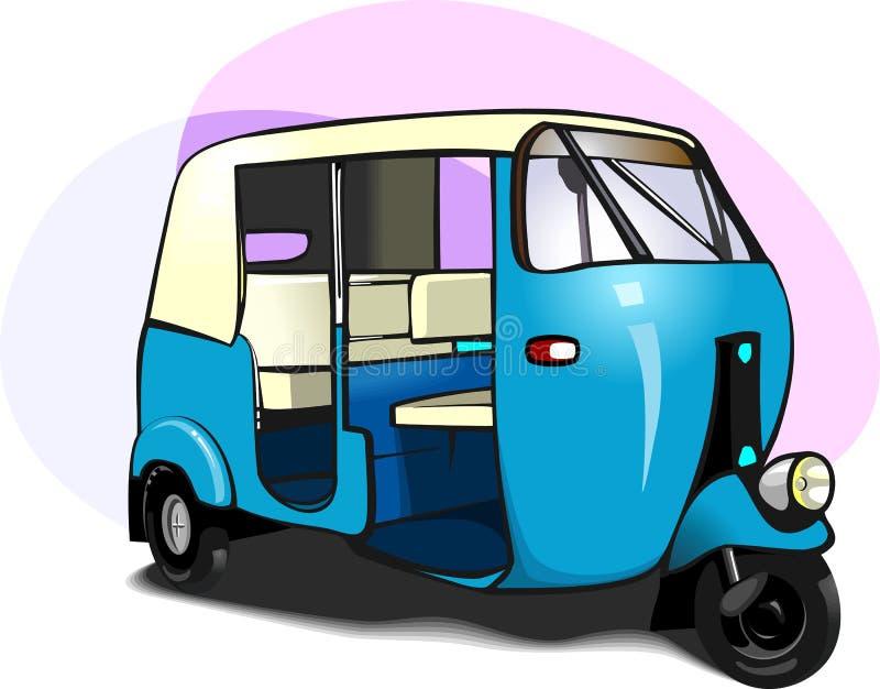 Carrito auto stock de ilustración