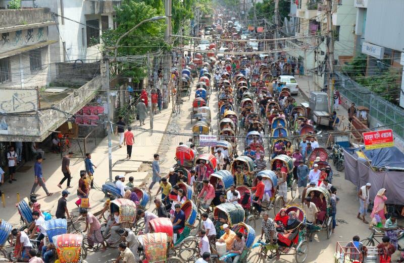 CARRITO EN BANGLADESH fotos de archivo libres de regalías
