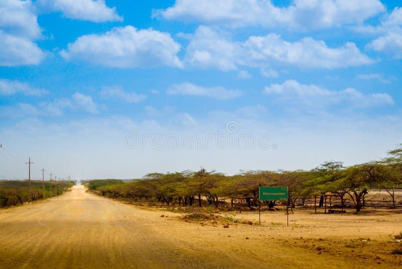 Carrizal沙漠 库存照片