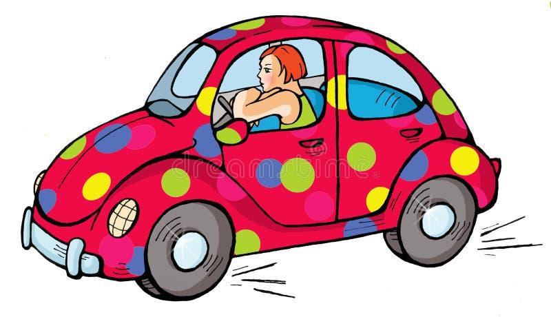 Carro 04 ilustração royalty free