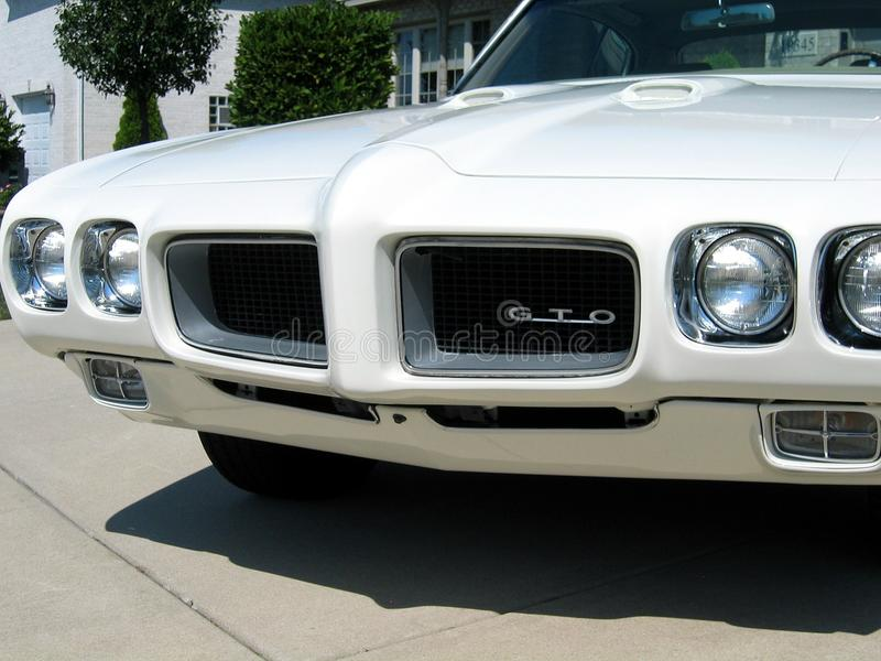 Carro 1970 de Pontiac GTO imagens de stock