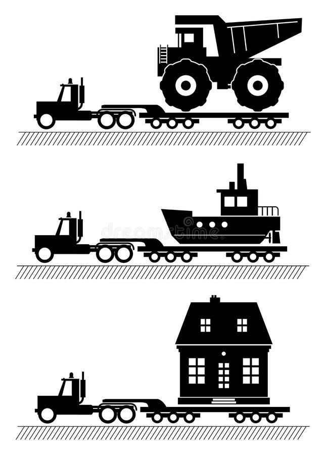 Carro stock de ilustración
