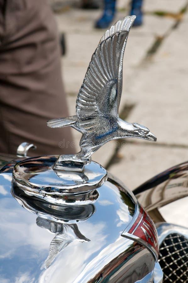 Carro Alvis do vintage da mascote imagem de stock royalty free