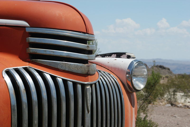 Carro americano clássico fotografia de stock