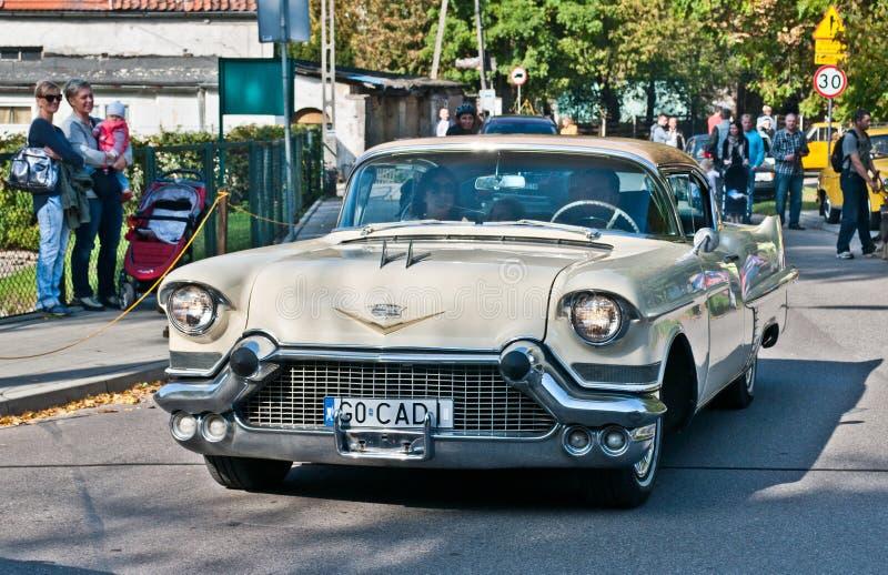Carro americano clássico Cadillac imagem de stock