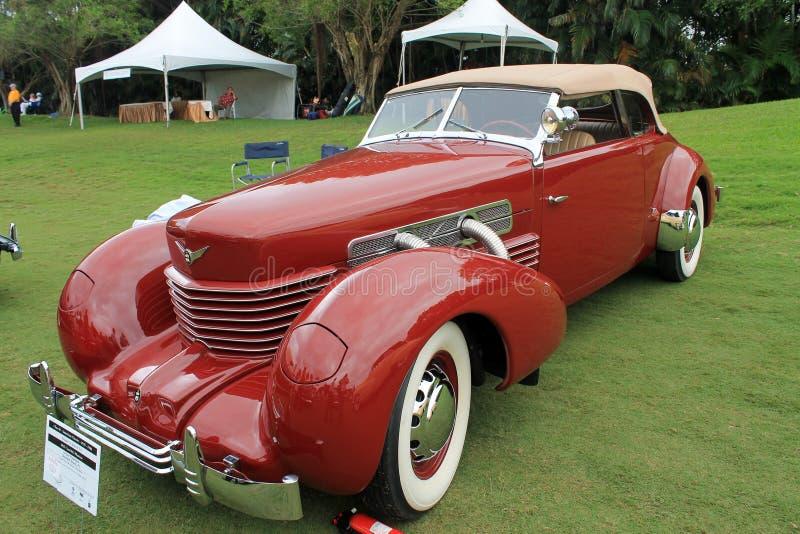 Carro americano clássico raro imagem de stock royalty free