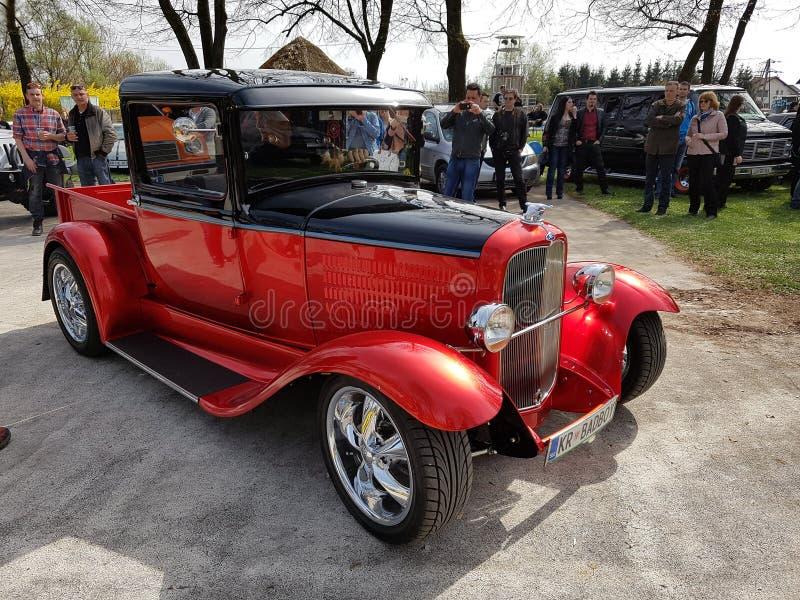 Carro americano do músculo de Oldschool imagem de stock royalty free