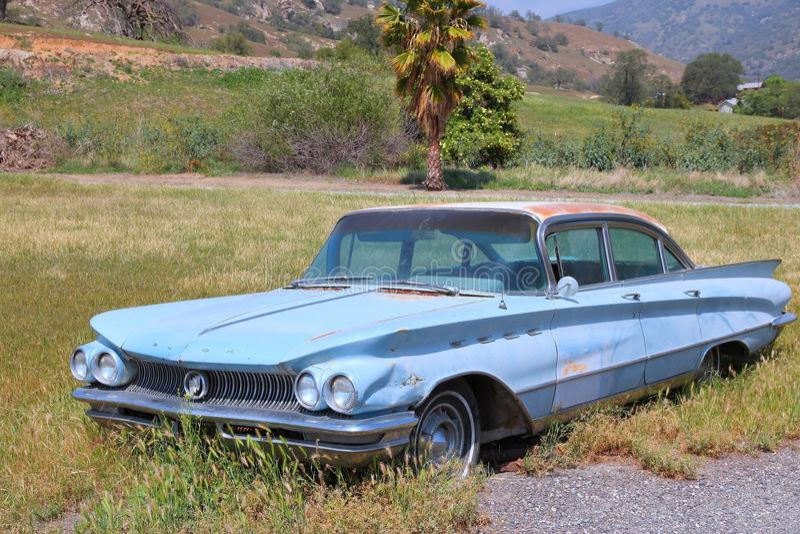Carro americano do oldtimer fotos de stock