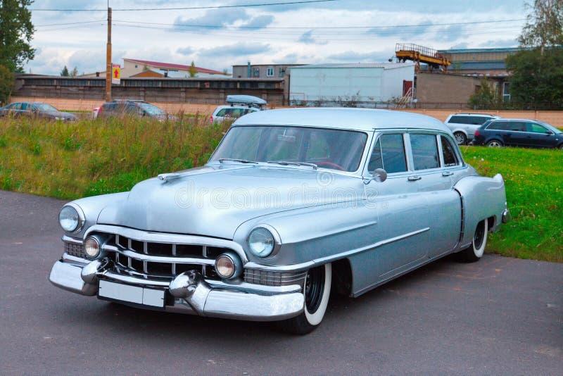 Carro americano do oldtimer foto de stock