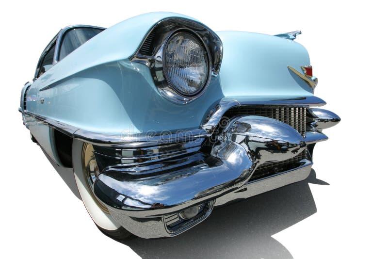 Carro americano do vintage de 50s fotografia de stock