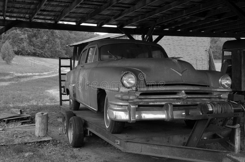 Carro antigo foto de stock