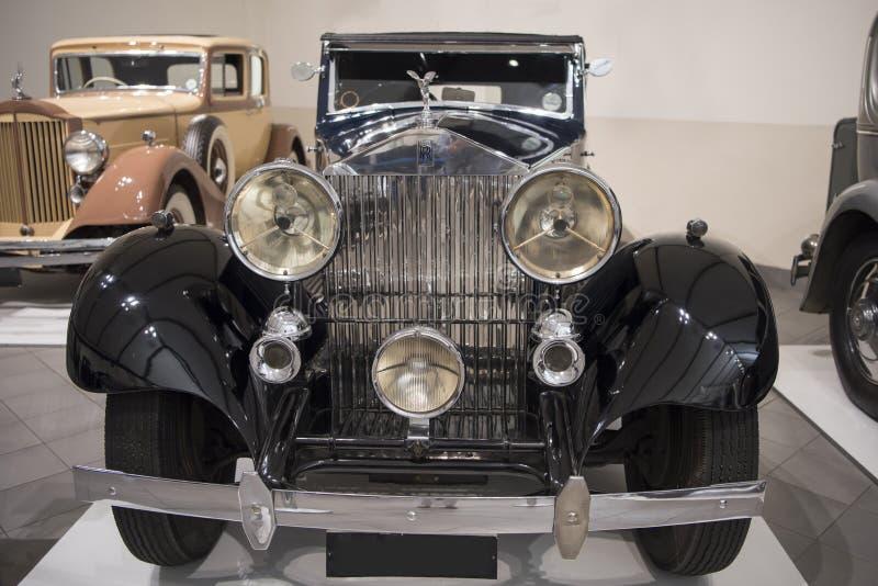 Carro antigo de Rolls royce imagem de stock royalty free