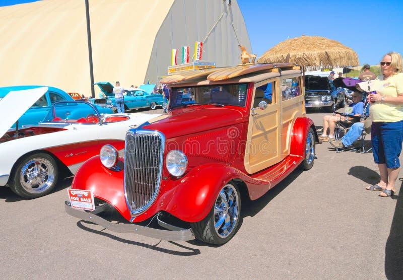 Carro antigo: 1934 Ford  imagens de stock