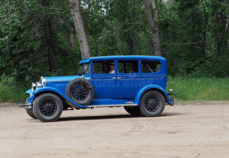 Carro antigo restaurado fotografia de stock royalty free