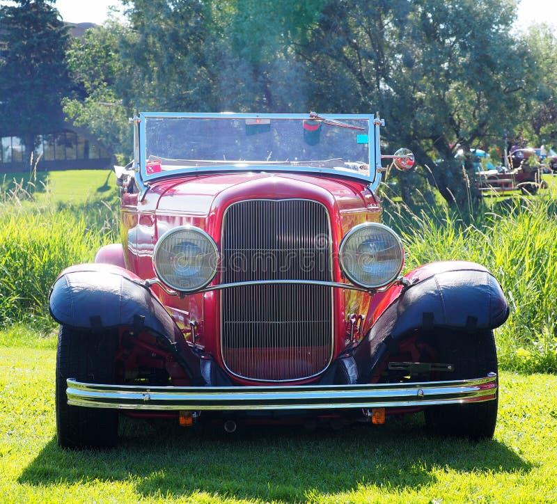 Carro antigo restaurado fotografia de stock