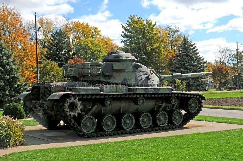Carro armato dei militari del wwll dell'esercito americano immagini stock