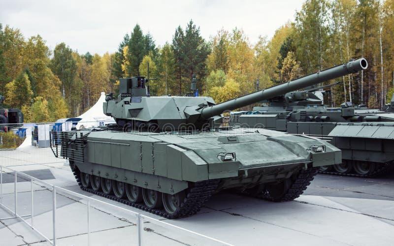 Carro armato del Russo di T-14 Armata immagine stock