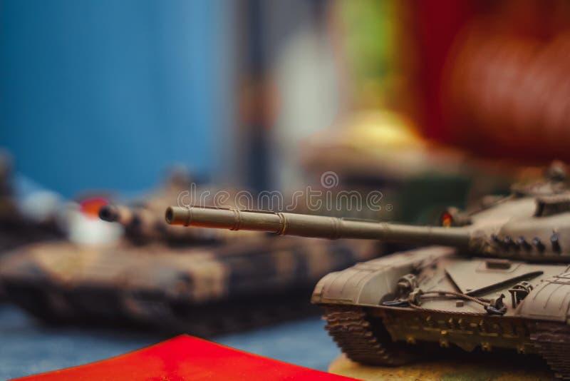 Carro armato di modello della seconda guerra mondiale immagini stock libere da diritti