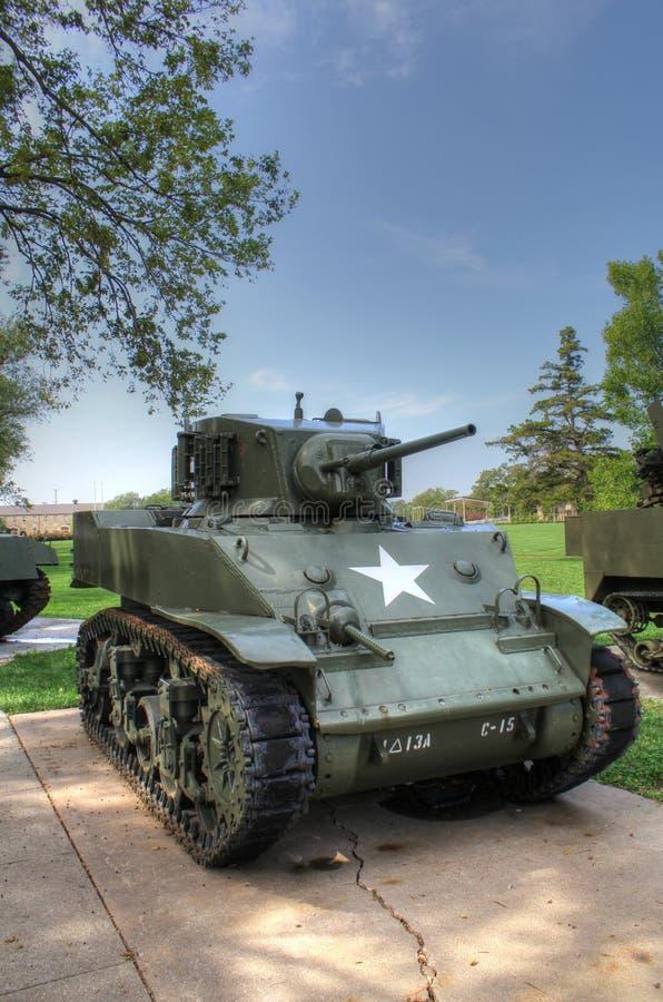 Carro armato leggero di M5A fotografia stock libera da diritti