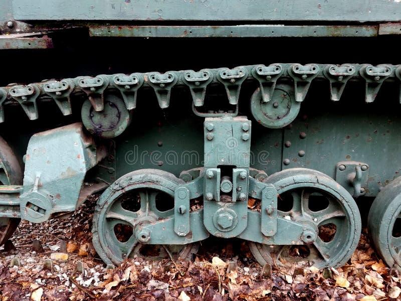 Carro armato leggero II dalla guerra mondiale dettagliatamente fotografie stock