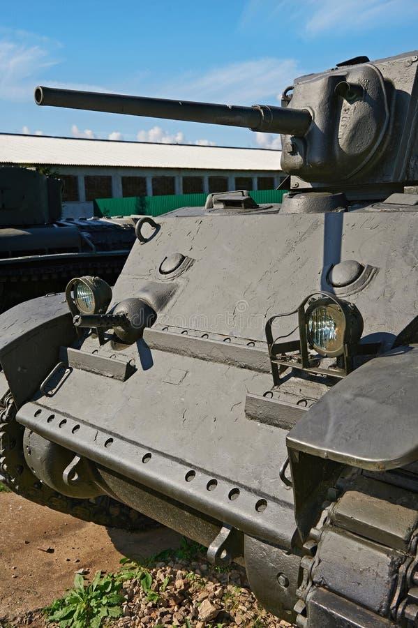Carro armato leggero M5A1 immagine stock libera da diritti