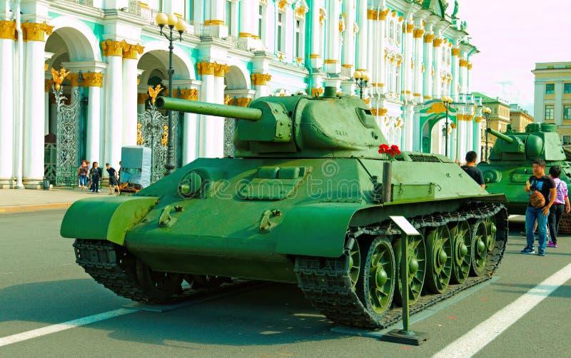 Carro armato medio sovietico T-34/76 immagini stock