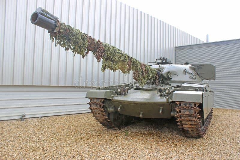 Carro armato militare d'annata immagine stock libera da diritti