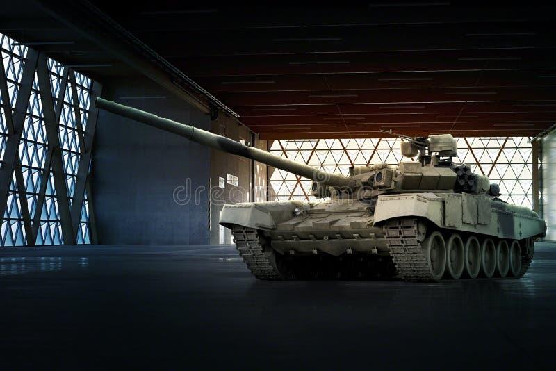 Carro armato militare moderno fotografia stock