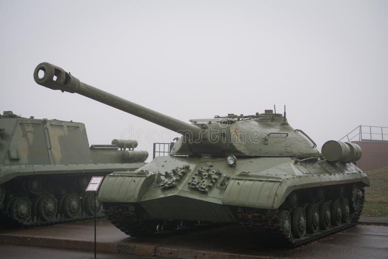 Carro armato pesante russo IS-3 immagini stock