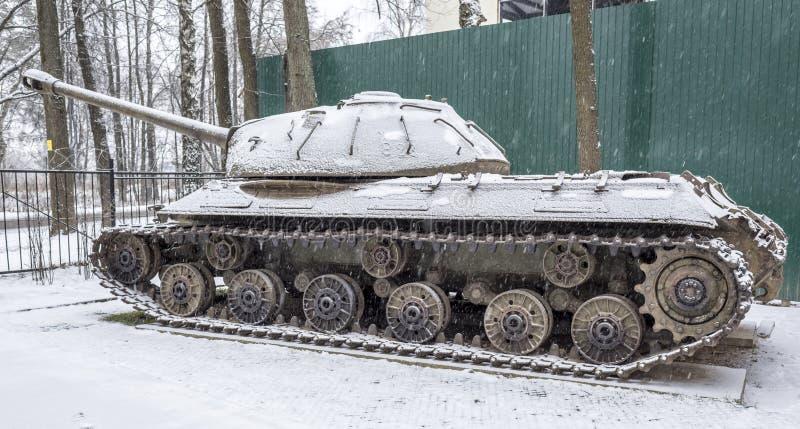 Carro armato pesante sovietico IS-3 (oggetto 703 Anni di produzione 1945-1946 immagine stock