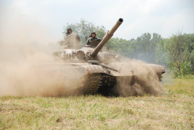 Carro armato T-72 immagine stock libera da diritti