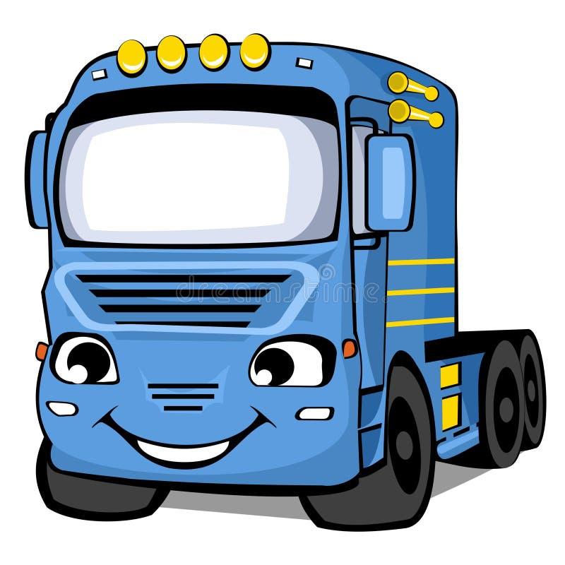 Carro azul libre illustration