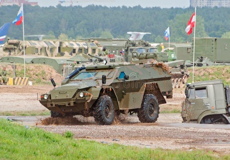 Carro blindado de KAMAZ-43269 Vystrel imagem de stock royalty free