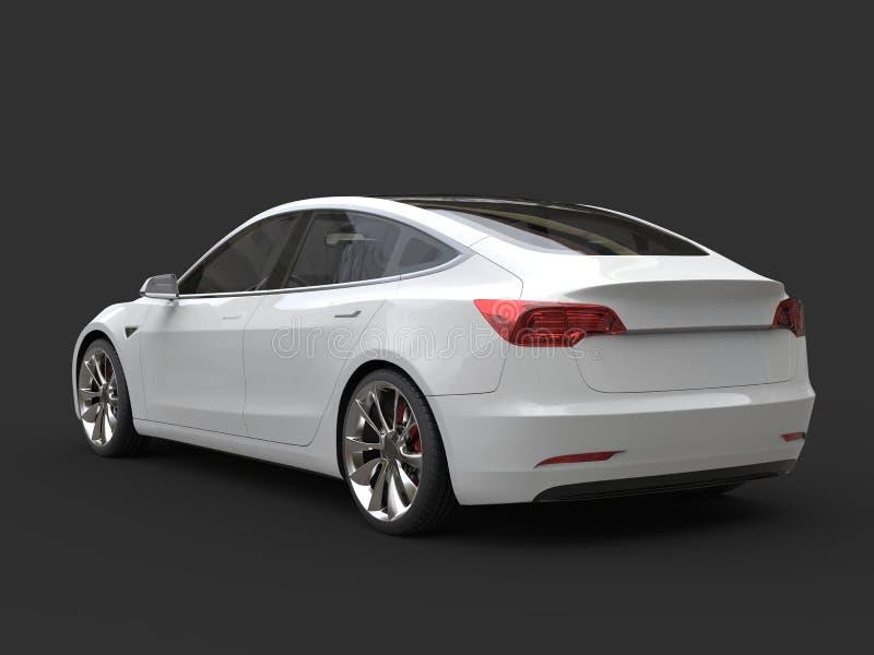 Carro bonde moderno bonito com telhado de vidro - ate a vista imagem de stock royalty free