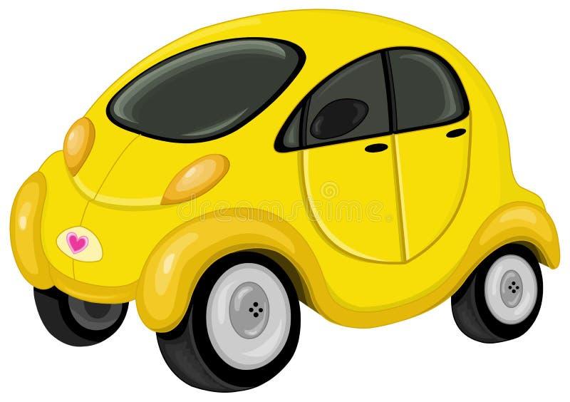 Carro bonito ilustração stock