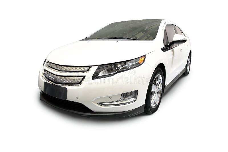 Carro branco imagem de stock