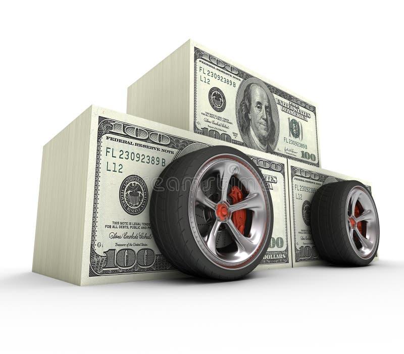 Carro caro fotografia de stock royalty free